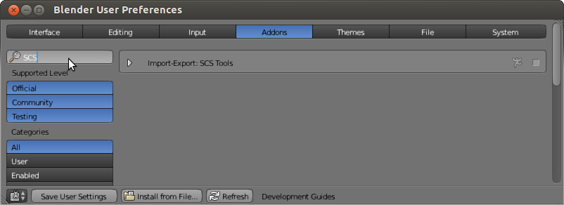 Blender enable SCS Tools Addon.png