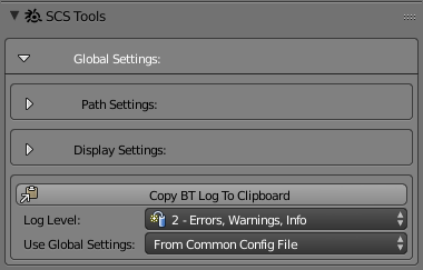 Documentation/Tools/SCS Blender Tools/Global Settings - SCS Modding Wiki