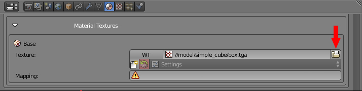 Simple cube browser for the texture.jpg